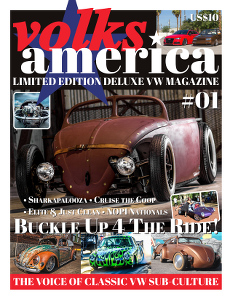 VolksAmerica VW Magazine Issue 1 in Print