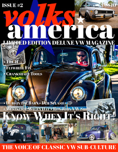 VolksAmerica VW Magazine Issue 2 in Print